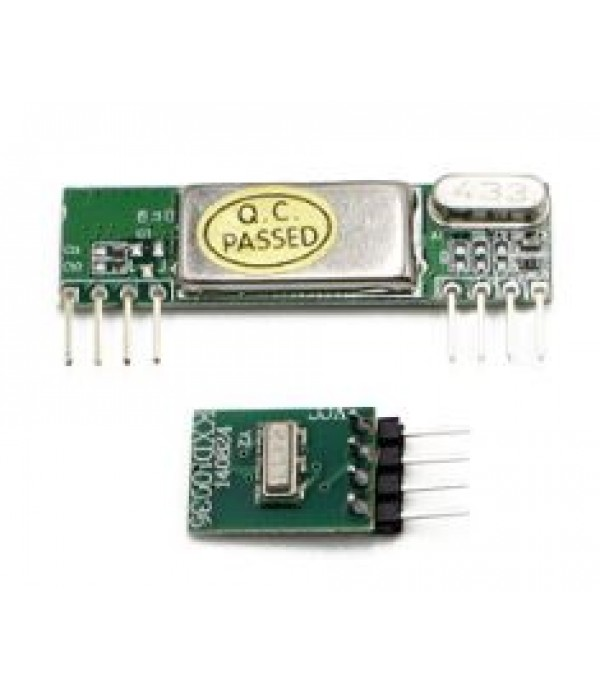 315MHz Superheterodyne RF Link Transmitter & Receiver Kits 3400 Radio Frequency Receiving Module