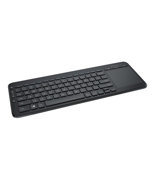 Microsoft All-in-One Media Keyboard with Integrated Multi-Touch Trackpad - keyboard