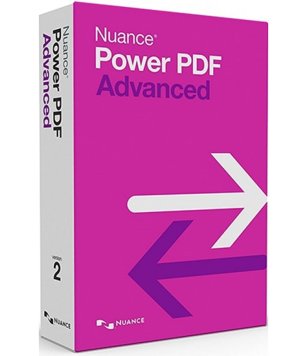 Nuance Power PDF Advanced (v. 2.0) - box pack - 1 user
