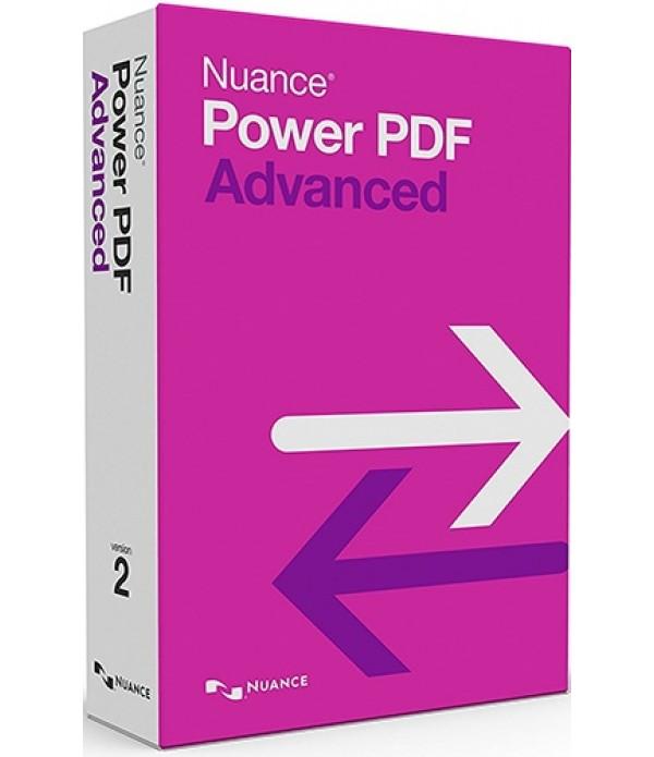 Nuance Power PDF Advanced (v. 2.0) - box pack - 1 user